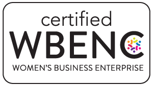 Certified WBENC, Women's Business Enterprise